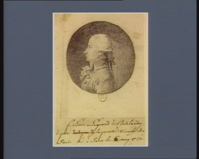 F. Louis Legrand de Boislandry député de la prévôté vicomté de Paris né à Paris le 6 may 1750 : [dessin]