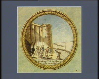 Le  Gouv.r de la Bastille arrêté [estampe]