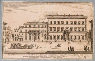 Palazzo Sciarra Colonna, prospetto