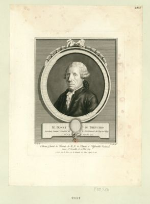 M. Bonet de Treychis président, lieuten.t général de la sénéchaussé du Puy-en-Velay, né le 29 septembre 1722 : [estampe]