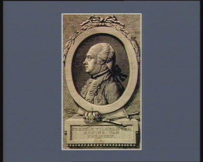 Fredrik Wilhelm de II, Koning van Pruissen [estampe]