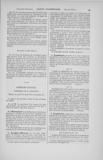 Tome 25 : Du 13 avril au 11 mai 1791 - page 63