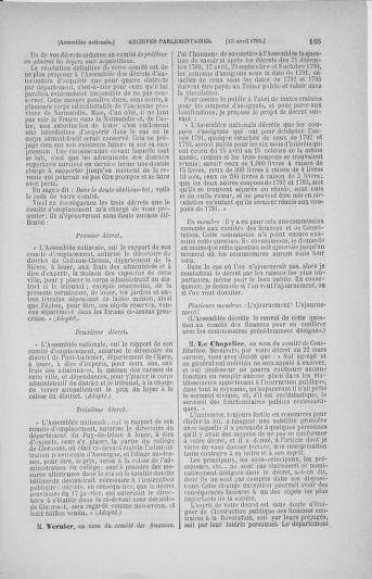 Tome 25 : Du 13 avril au 11 mai 1791 - page 105
