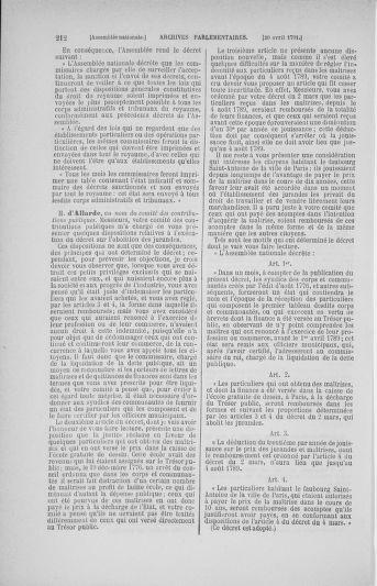 Tome 25 : Du 13 avril au 11 mai 1791 - page 212