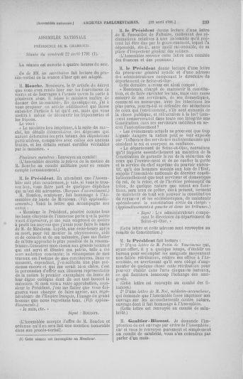 Tome 25 : Du 13 avril au 11 mai 1791 - page 239