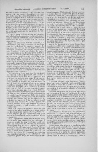 Tome 25 : Du 13 avril au 11 mai 1791 - page 243