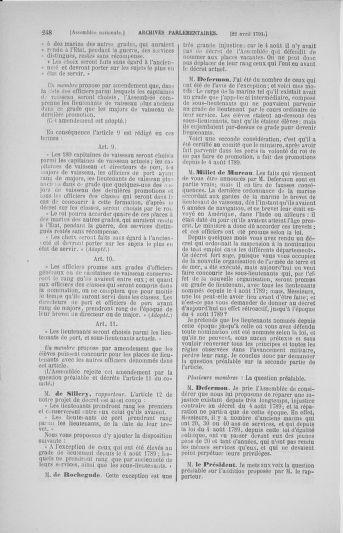 Tome 25 : Du 13 avril au 11 mai 1791 - page 248