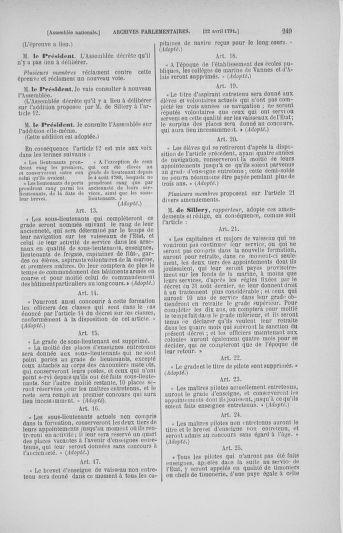 Tome 25 : Du 13 avril au 11 mai 1791 - page 249