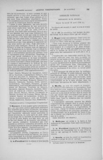 Tome 25 : Du 13 avril au 11 mai 1791 - page 341
