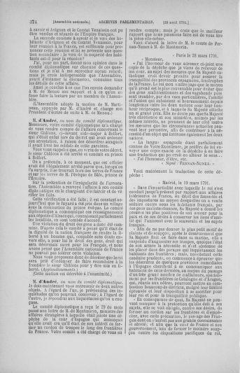 Tome 25 : Du 13 avril au 11 mai 1791 - page 374