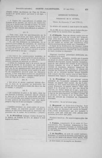 Tome 25 : Du 13 avril au 11 mai 1791 - page 479