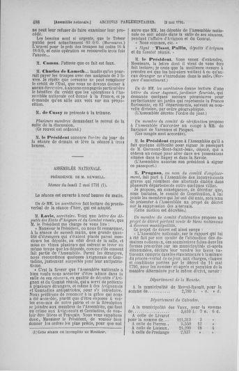 Tome 25 : Du 13 avril au 11 mai 1791 - page 488