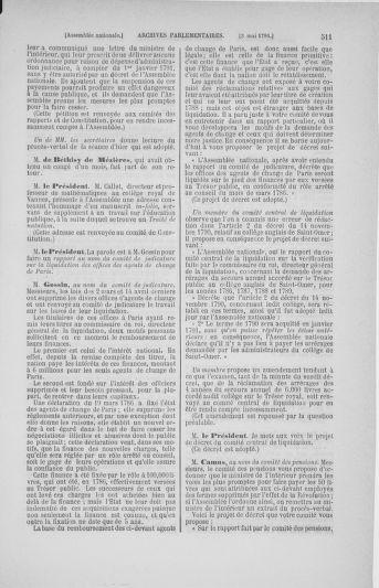Tome 25 : Du 13 avril au 11 mai 1791 - page 511
