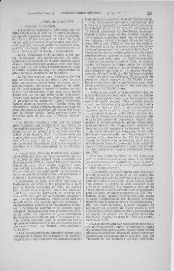 Tome 25 : Du 13 avril au 11 mai 1791 - page 551