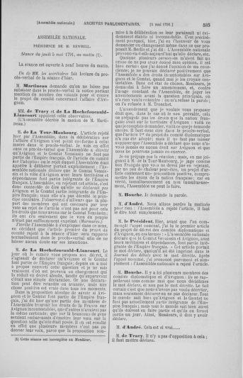 Tome 25 : Du 13 avril au 11 mai 1791 - page 585