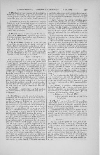 Tome 25 : Du 13 avril au 11 mai 1791 - page 587