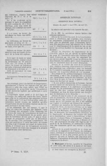 Tome 25 : Du 13 avril au 11 mai 1791 - page 609