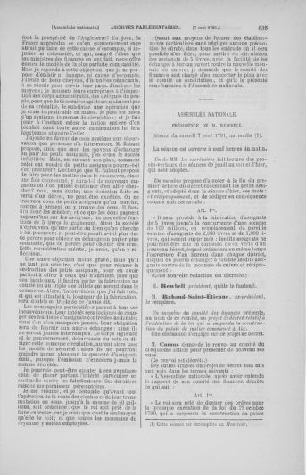 Tome 25 : Du 13 avril au 11 mai 1791 - page 635