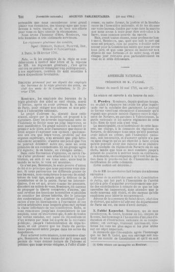 Tome 25 : Du 13 avril au 11 mai 1791 - page 708