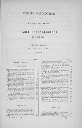 Tome 25 : Du 13 avril au 11 mai 1791 - page 769