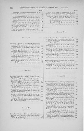 Tome 25 : Du 13 avril au 11 mai 1791 - page 770