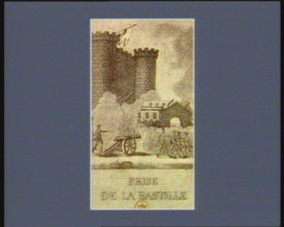 Prise de la Bastille [estampe]