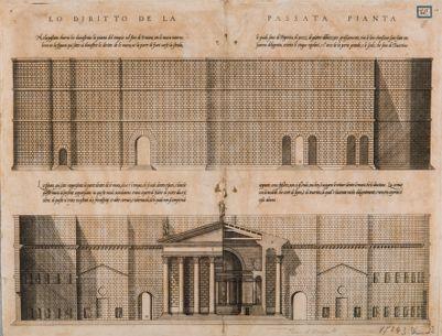 Foro d'Augusto, recinzione e tempio di Marte Ultore ricostruiti