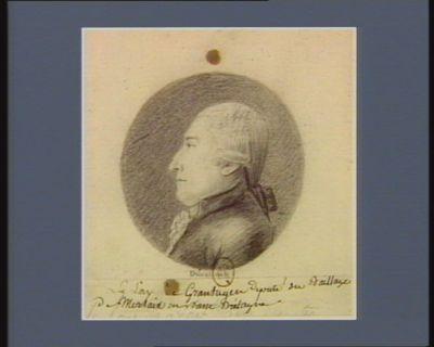 Le  Lay de Grantugen député du baillage de Morlaix en Basse Bretagne : [dessin]