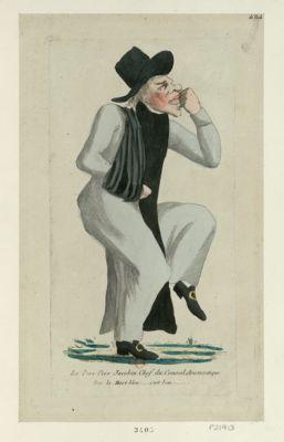 Le  Pers vers jacobin chef du conseil aristocratique par la mort bleu... c'est bon... : [estampe]