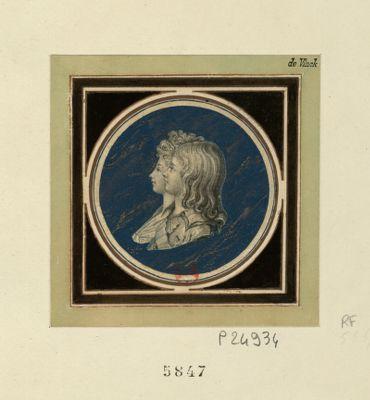 [<em>Portraits</em> du Dauphin et de Madame Royale] [estampe]
