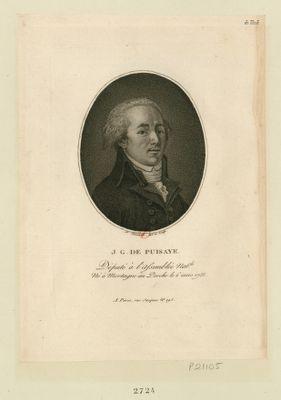 J.G. de Puisaye député à l'Assemblée nat.le, né à Mortagne au Perche le 6 mars 1755 : [estampe]
