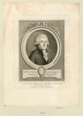 J.n Fr.is Goupilleau, notaire, à Montaigu et avocat député de la sénéch.ée du Poitou, né à Premont le 25 juillet 1753 : [estampe]