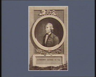 Edmund Burke Esq [estampe]
