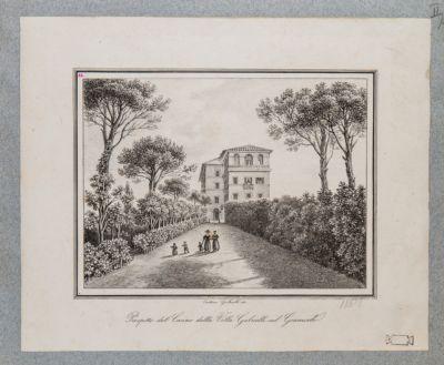 Gianicolo. Villa Gabrielli