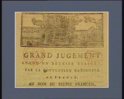 Prise de la Bastille le 14 juillet 1789 [estampe]