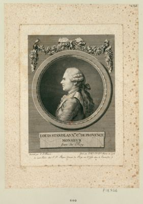 <em>Louis</em> Stanislas X.er c.te de <em>Provence</em> Monsieur frere du Roy [estampe]