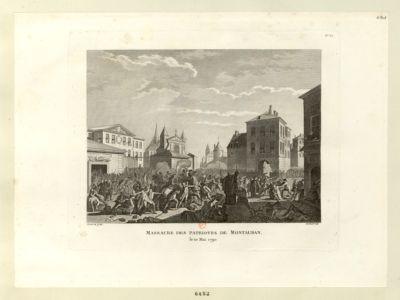 Massacre des patriotes de <em>Montauban</em> le 10 mai <em>1790</em> : [estampe]