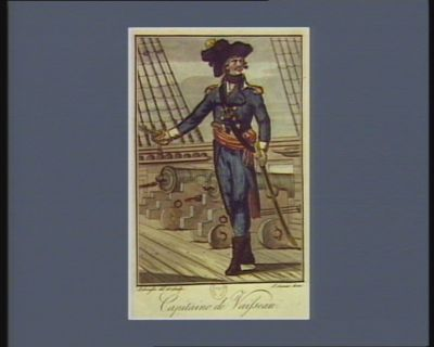 Capitaine de vaisseau [estampe]