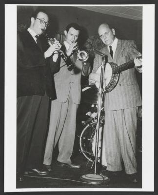 Bill Napier, Bob Scobey, Clancy Hayes at El Rancho Grande 1955
