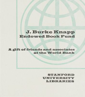 J. Burke Knapp Endowed Book Fund