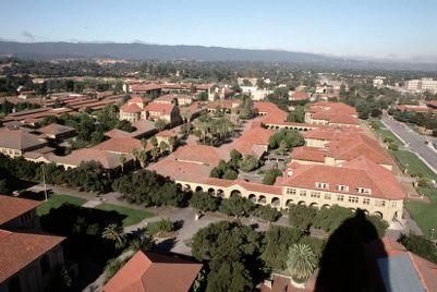 Campus, aerial view