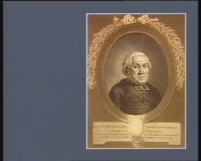 David Pier. Ballard, curé du Poyré-sur-Velliure, député du Bas-Poitou un des trois curés qui les premiers se sont rendu <em>à</em> la salle nationale ou se trouvoient réunis Messieurs des Communes, le 12 juin 1789 : [estampe]