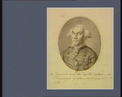 M. duval de monville deputé supleant de S.t domingue né à la martinique le 6 7.bre 1737 : [dessin]