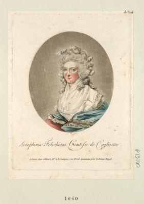 Seraphinia Felichiani comtesse de Cagliostro [estampe]
