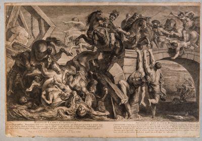 """Ponte Milvio, episodio della battaglia """"ad Saxa Rubra"""""""