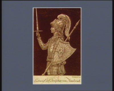 Ludwig Carl Dauphin von Frankreich geb. den 27 Marz 1785 : [estampe]