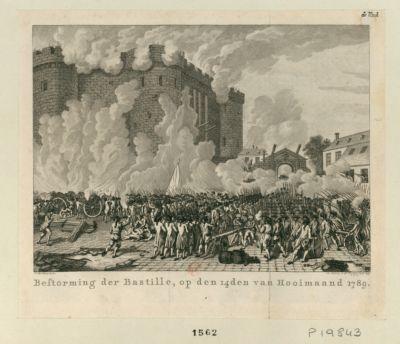 Bestorming der Bastille [estampe]