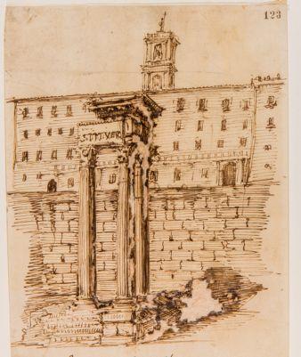 Tempio di Vespasiano, progetto di restauro