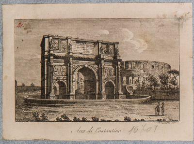 Arco di Costantino, visto da ovest