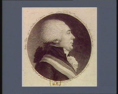 Jerôme Pétion né à Chartres le 3 janvier,1756 ; président de l'Ass.blée n.ale constituante en dec.bre 1790 maire de Paris en 1792 : [estampe]